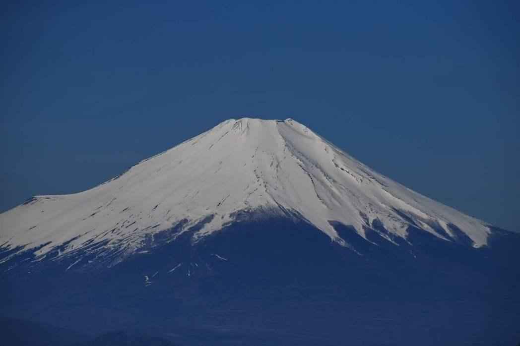 日本富士山示意圖。(法新社)