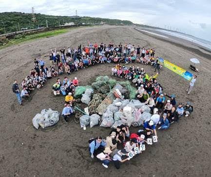 「愛護海洋、守護地球,國泰證券、國泰期貨一起行動淨灘活動」9月26日全台補班日於...