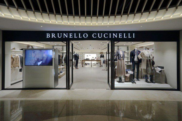 素有「山羊絨之王」之稱的Brunello Cucinelli在台北麗晶精品開設專...