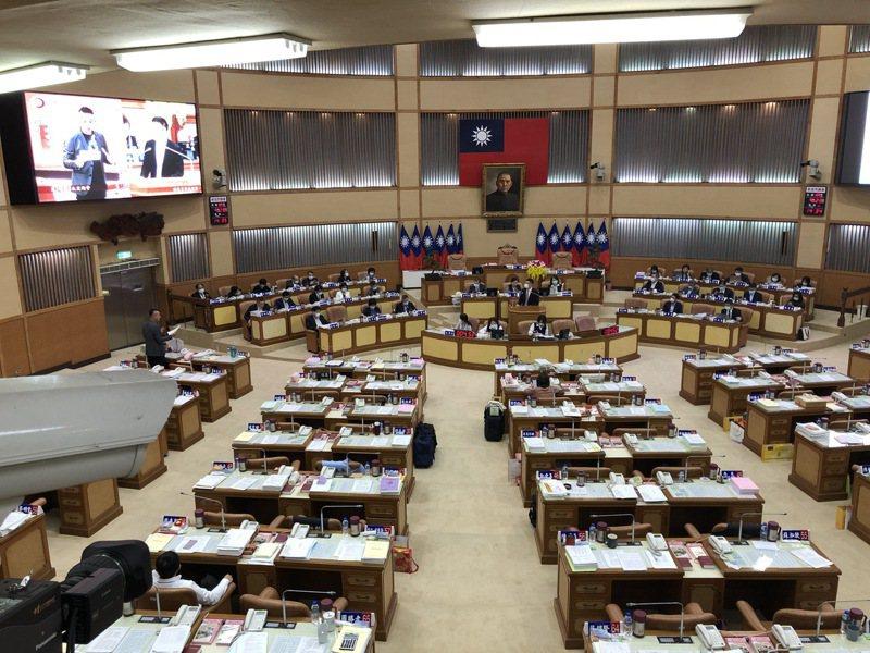 新北市議會今召開定期會。記者王敏旭/攝影