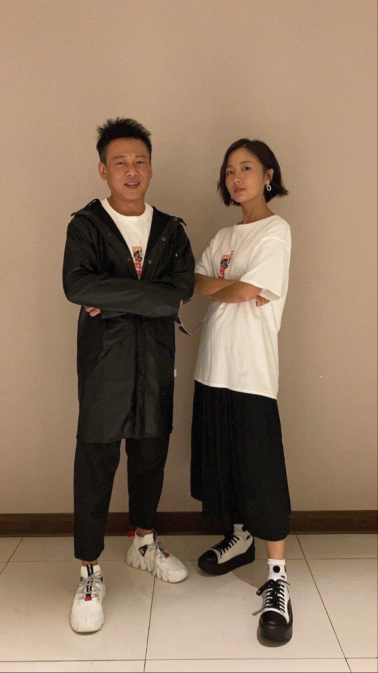 男女主角李康生、許安植終於合體。圖/華影國際提供