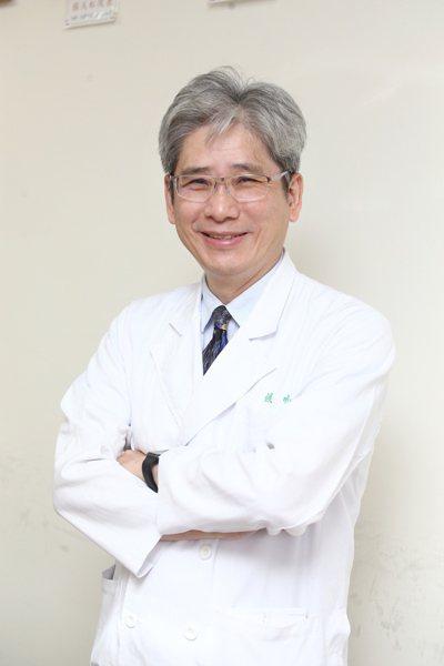 台北榮總內科部主任侯明志。記者蘇健忠/攝影