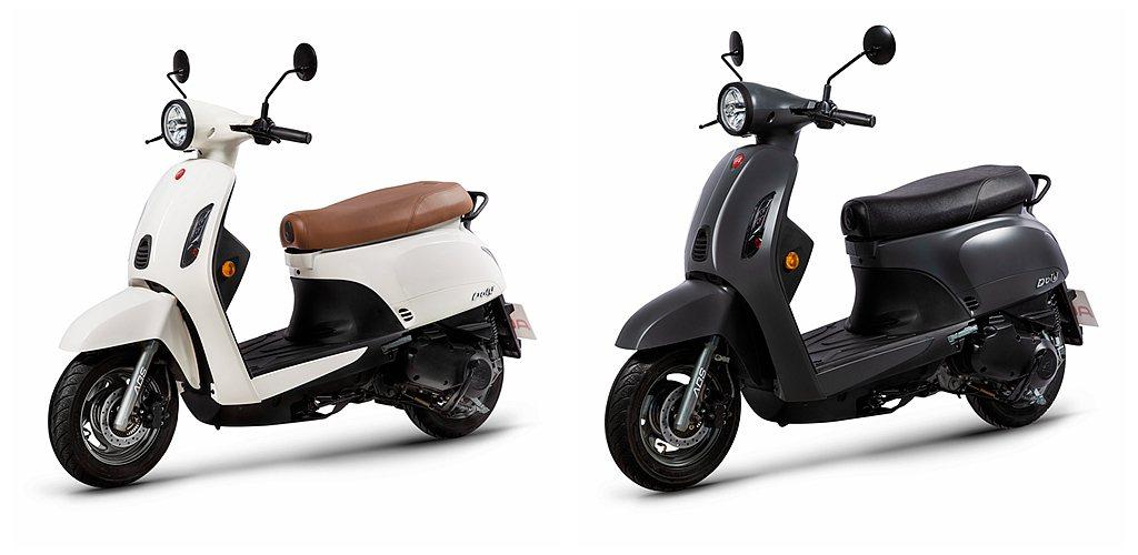 宏佳騰Dory 125 ABS建議售價為79,980元(不含牌險),提供百搭的「...