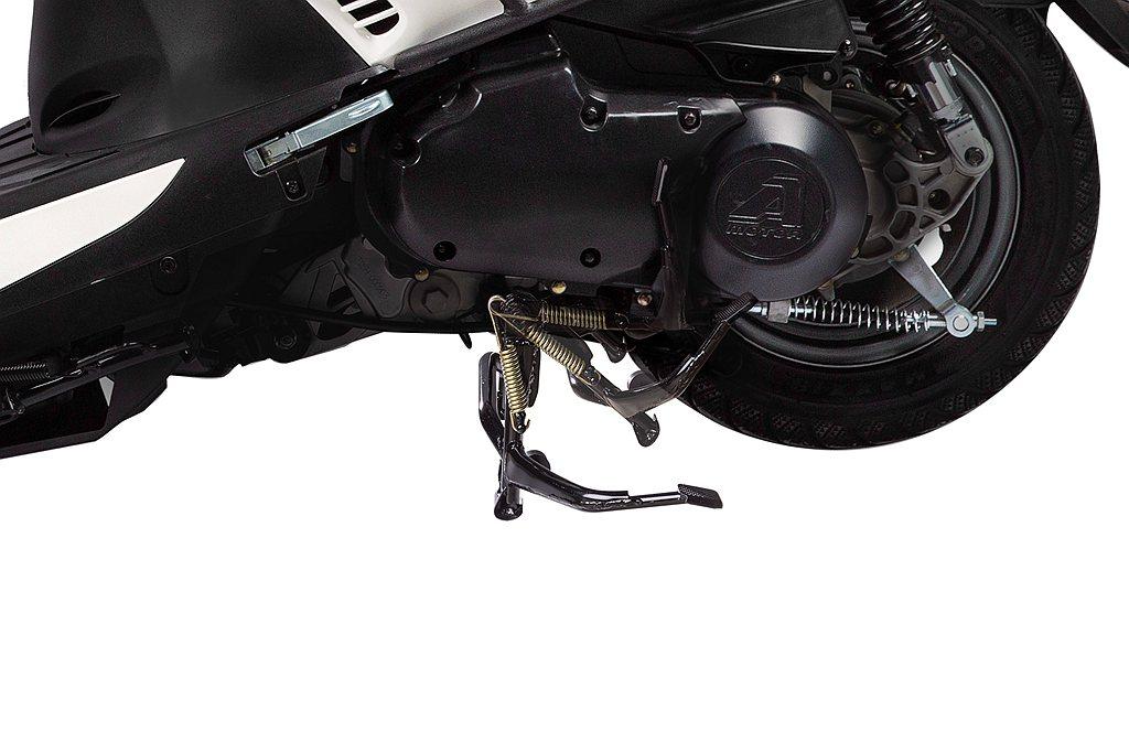 全新Dory 125 ABS採用全新環保高效能七期引擎,提供順暢又有力的騎乘感受...