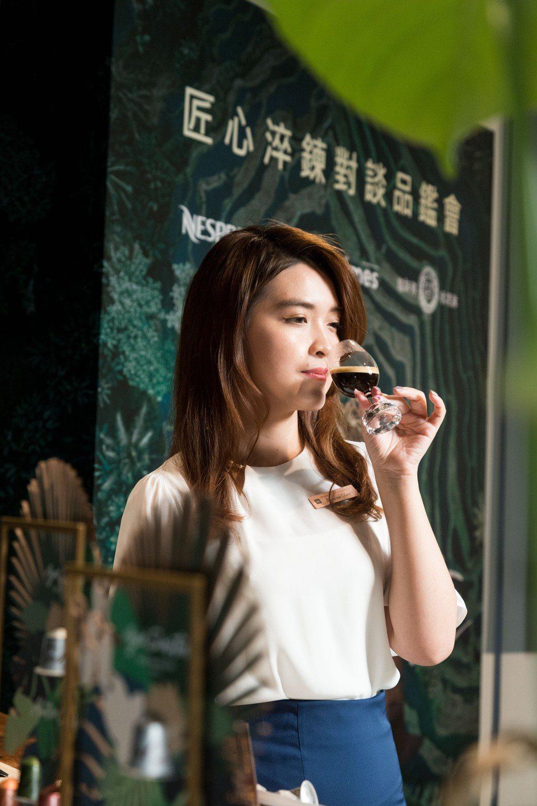Nespresso首席咖啡品牌大使陳思嘉Ximena分享蘇門達臘熟成咖啡的風土滋...