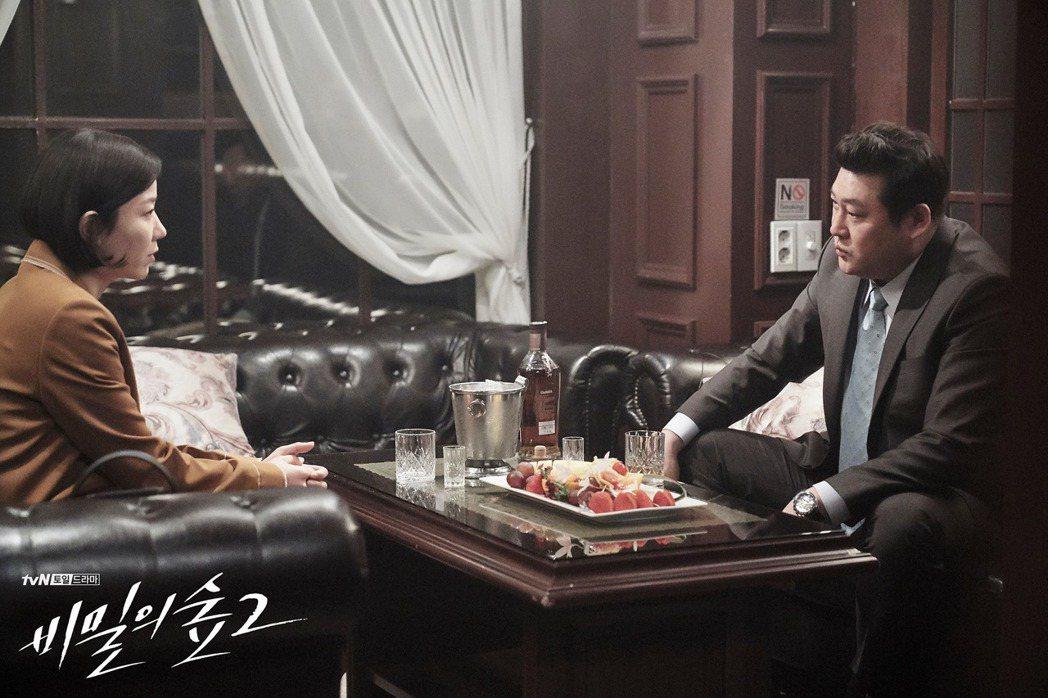 第二季當中不僅揭露檢方腐敗,警方也是一起沈淪。 圖/tvN 드라마(Drama)...