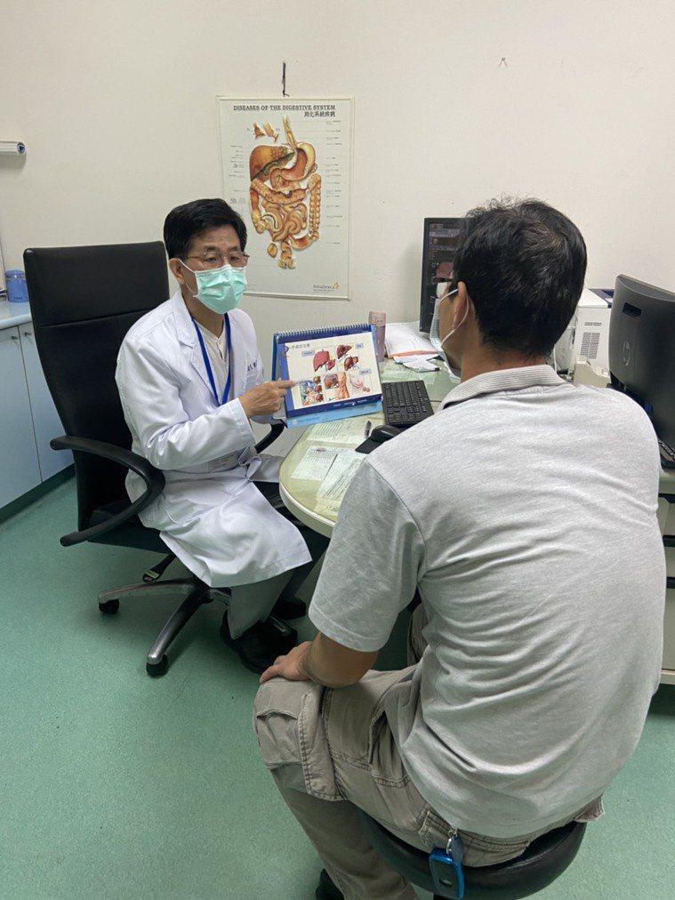 衛福部嘉義醫院指出,最有效的防治C肝作法,就是接受篩檢,早期發現早期治療。圖/院...