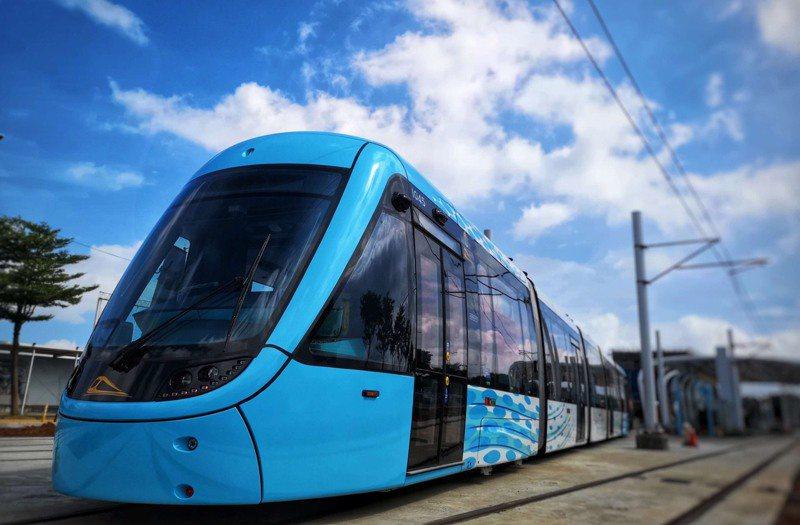新北捷運公司總經理吳國濟指出,除了與當地店家、公車業者結合套票外,也會祭出「五感」體驗,讓旅客搭輕軌有全新的體驗。圖/新北捷運公司提供