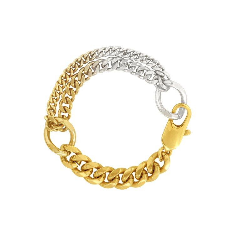 Olivia Yao Jewellery Ouro Buckle Bracele...