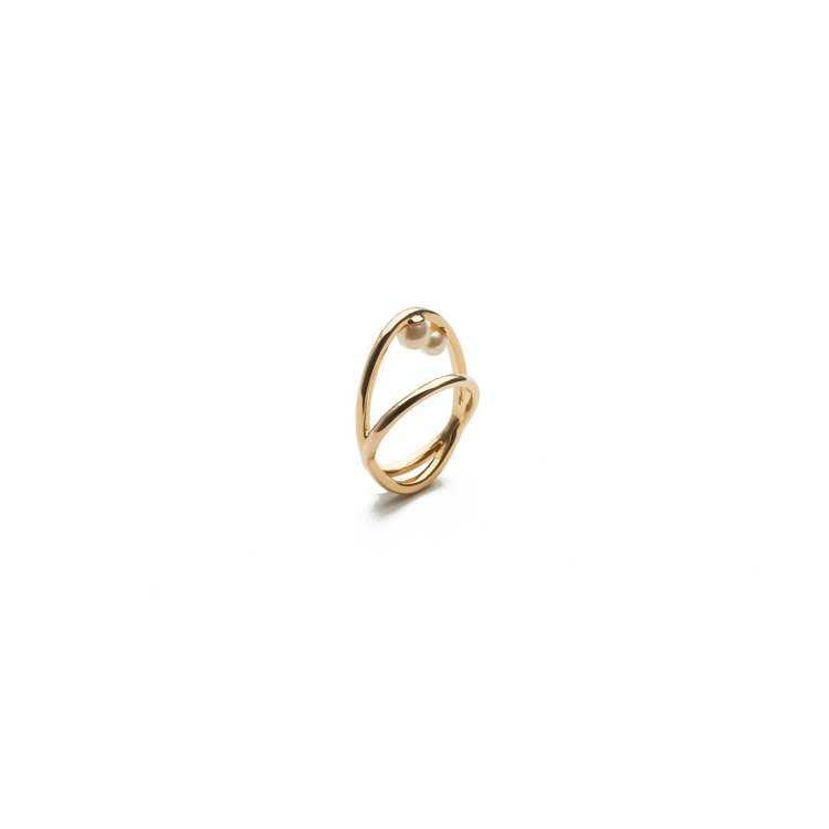ARTISMI 2020秋冬新品雙衛星戒指,4,800元。圖/ARTISMI提供