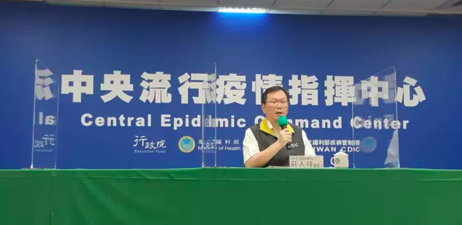 中央流行疫情指揮中心發言人莊人祥。記者邱宜君/攝影