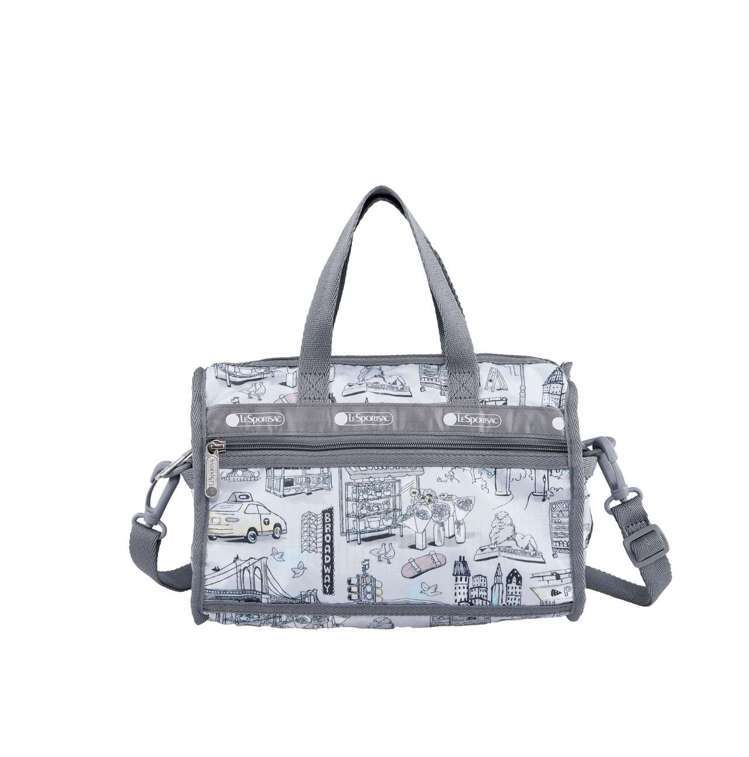 曼哈頓之旅奢華迷你旅行袋,3,050元。圖/LeSportsac提供