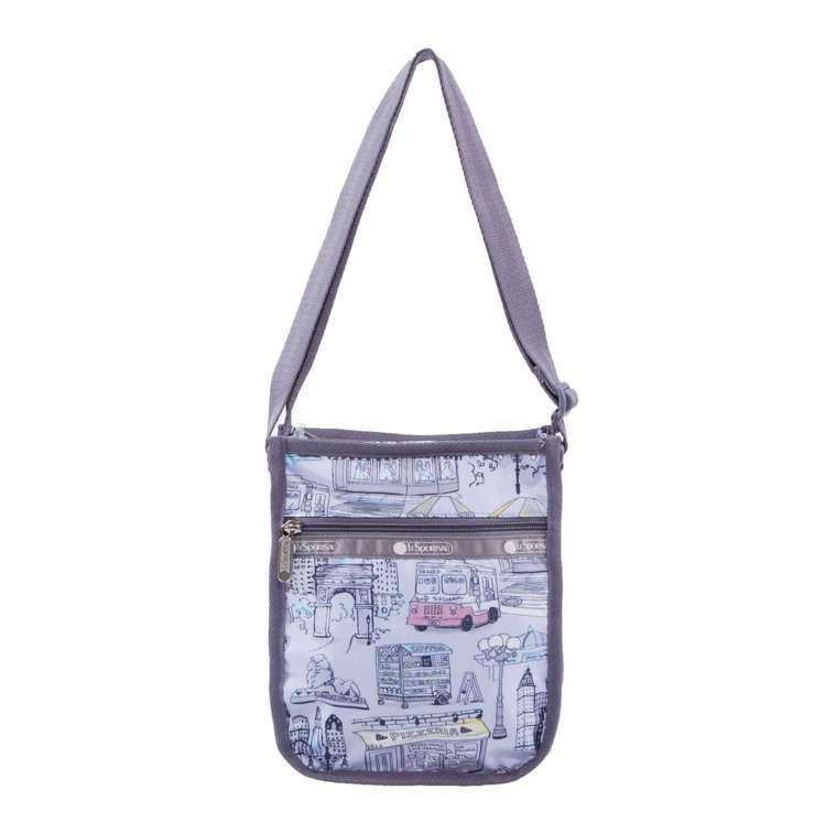 曼哈頓之旅隨身小物包,1,950元。圖/LeSportsac提供