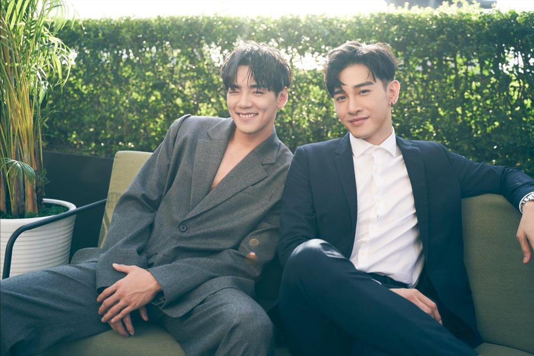 禾浩辰(左)和張立昂是好哥們。圖/群星瑞智提供