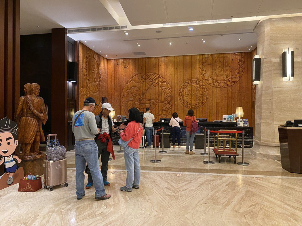 花蓮安心旅遊補助金額上看5億元,各大飯店住房率已達9成以上。記者王思慧/攝影