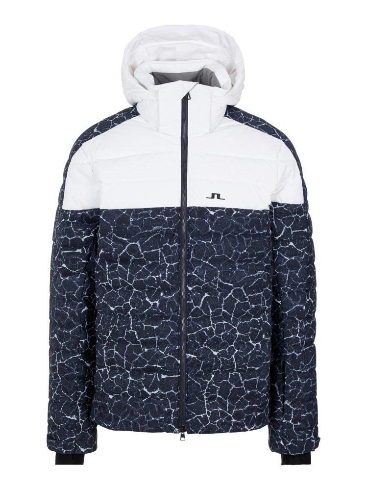 J.Lindeberg Todd Down Ski印花夾克32,800元。圖/J...