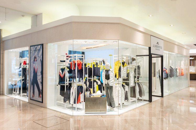 瑞典時尚品牌J.Lindeberg從即日起到11月4日為主,在台北新光三越百貨A...