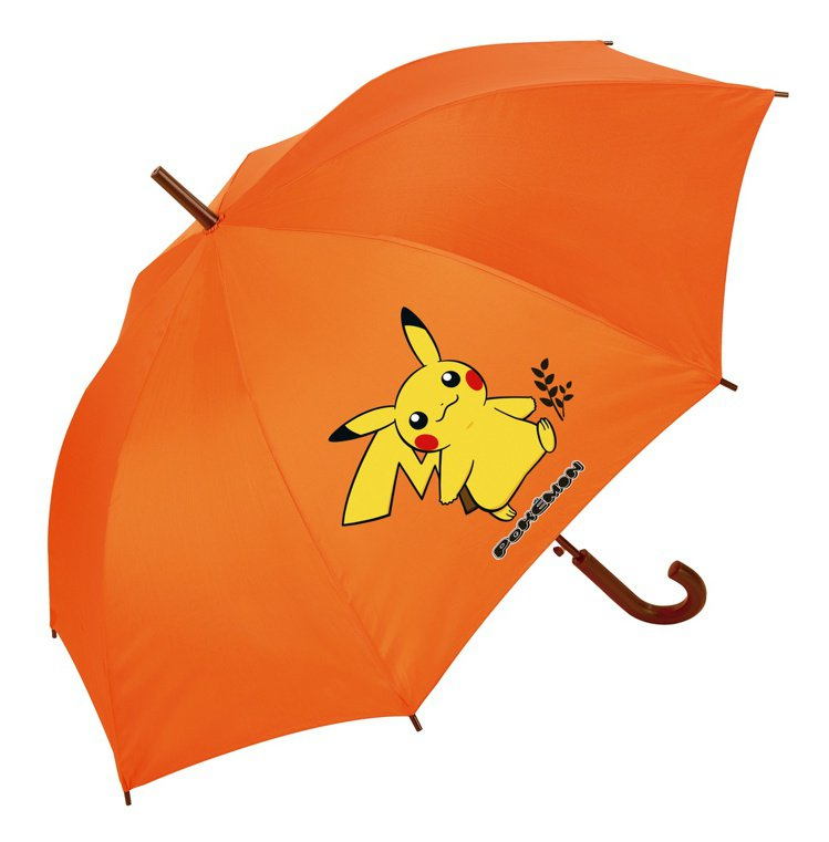 周年慶第一波指定銀行卡友禮,寶可夢直傘。圖/新光三越提供