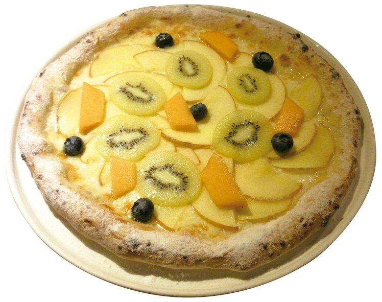 初登場「橫濱和ITALIAN PINO」水果披薩每份售價520元。圖/SOGO提...