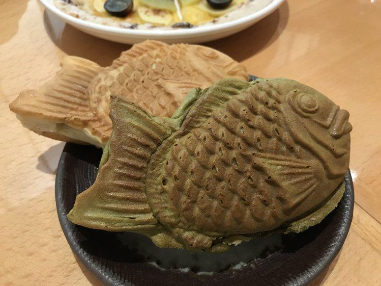 初登場「東京えびす屋」鯛魚燒每個售價50元。記者江佩君/攝影