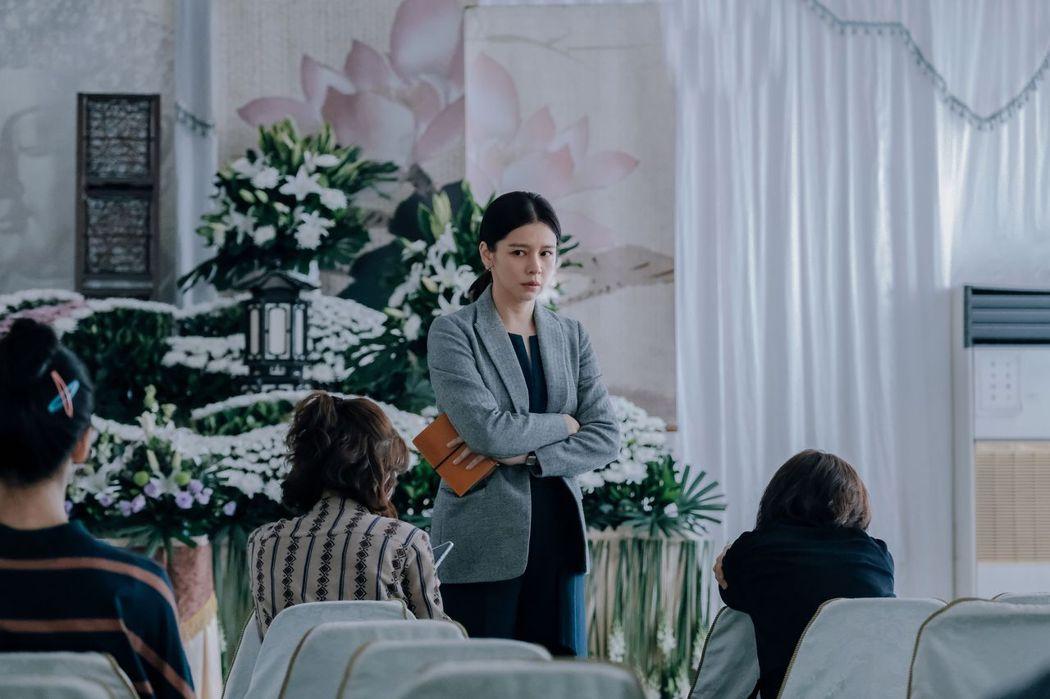 徐若瑄帶來新片「孤味」,該片與她的人生有許多共鳴之處,也讓她憶起亡父。圖/威視提供