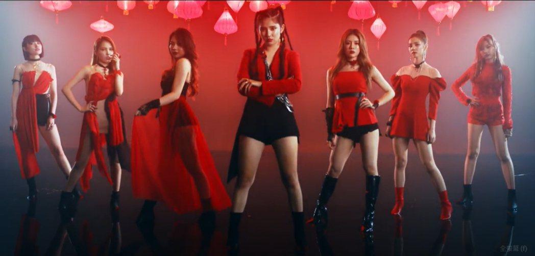 全新女團「G.O.F」本月5日正式出道。圖/野火娛樂提供