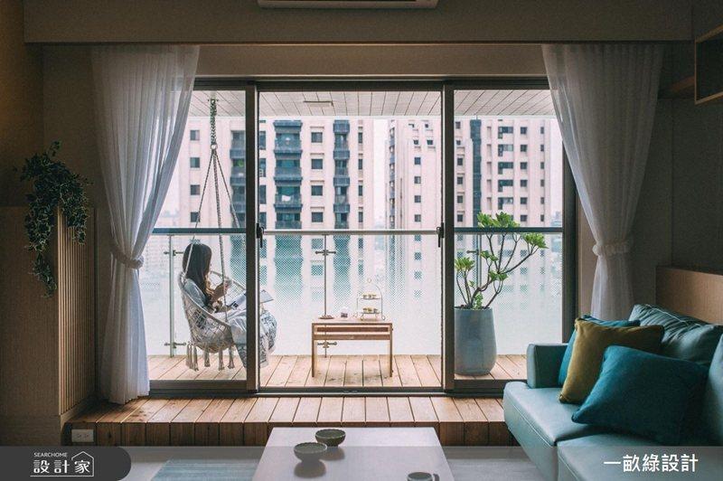 窗戶緊閉容易讓室內溫度、濕度上升,建議在天氣晴朗時,打開窗戶通風透氣。 圖/設計...