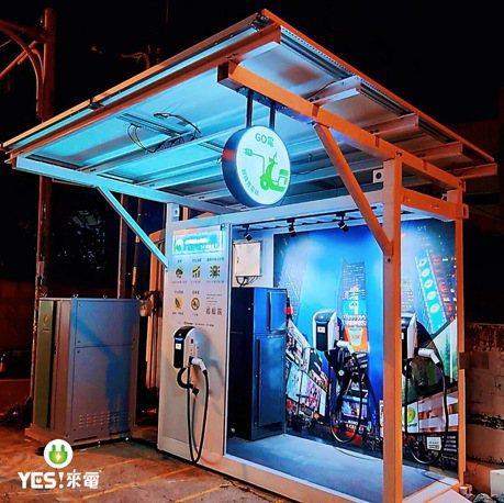 YES!來電攜手鐙鋒綠能 打造醇氫燃料能源二輪電動車快充站