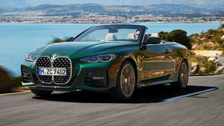 大鼻孔正式回歸軟頂敞篷 新世代BMW 4 Series Convertible浪漫登場!