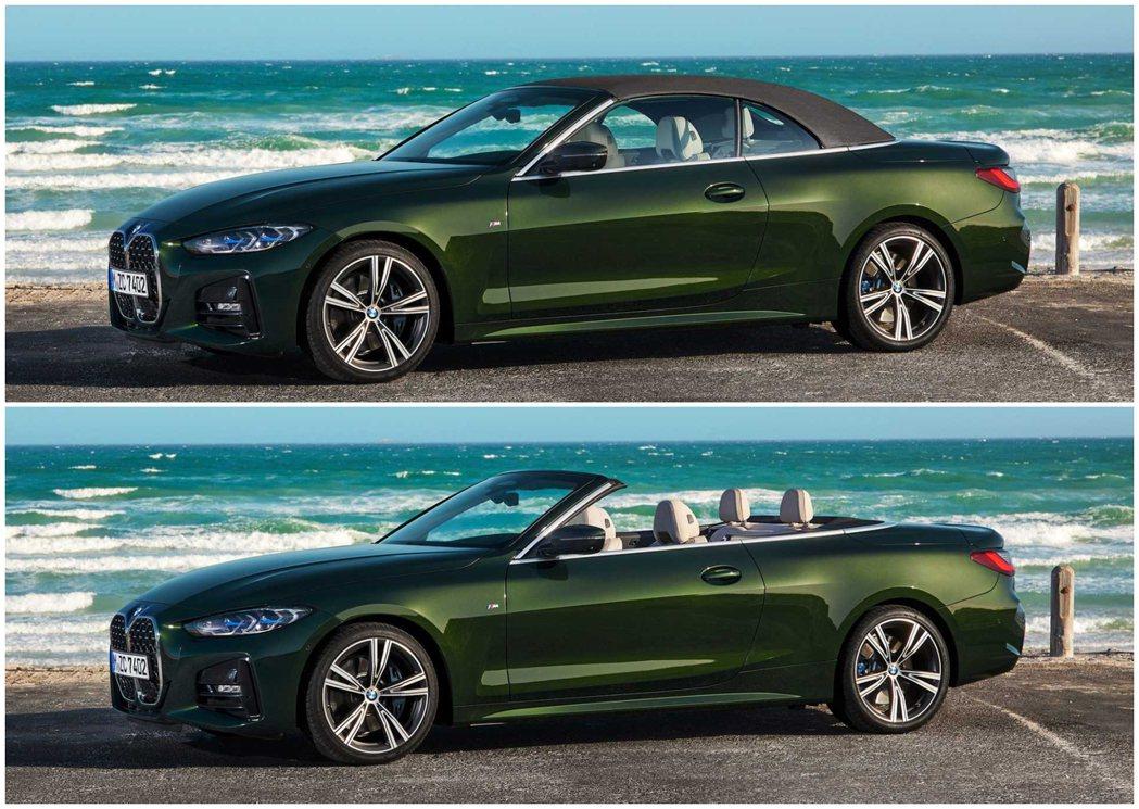 新世代BMW 4 Series Convertible (G23) 頂篷開啟/關...