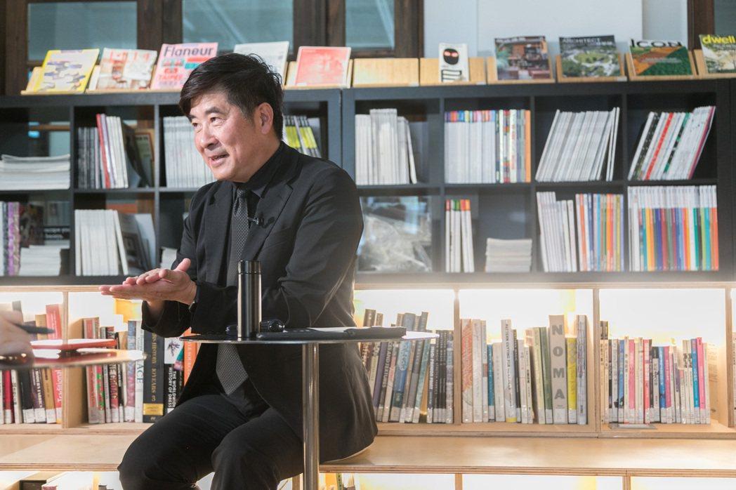 張基義掌理台灣設計研究院,相信設計可以讓世界看到台灣。記者 陳立凱/攝影