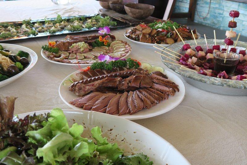 從產地到餐桌,來自香山好山好水的美食! 圖/洪郁真