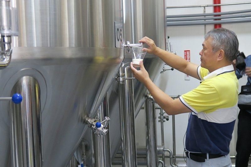 纖碧爾啤酒廠期待透過體驗,讓更多台灣人認識精釀啤酒的魅力。 圖/洪郁真