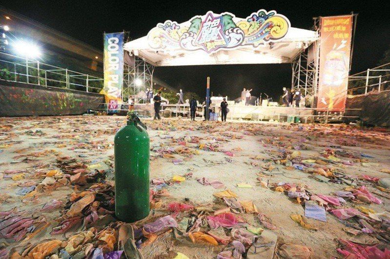八仙事件造成15死、466人受傷。圖/報系資料照片