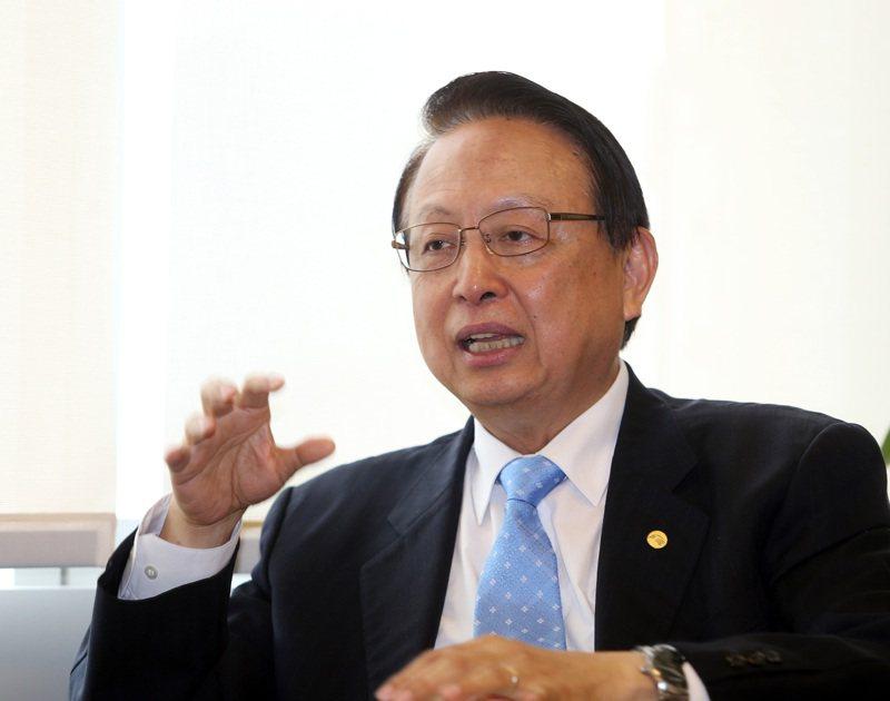 台灣高鐵公司董事長江耀宗。 聯合報系資料照