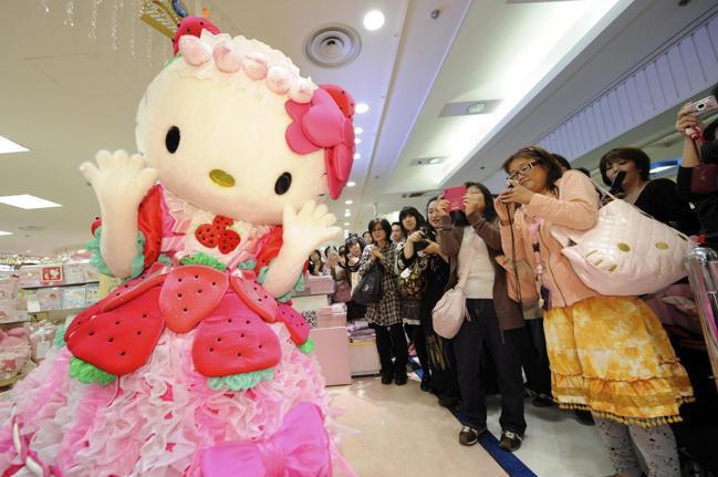 擁有Hello Kitty等知名卡通人物的三麗鷗,今年7月首次更替舵手,階班人將...