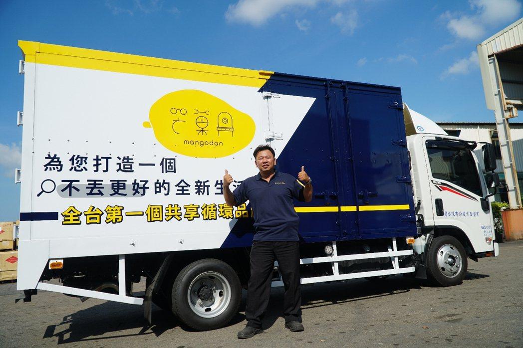 芒菓丹的「逆物流車隊」,是生產者收回制度的重要環節。