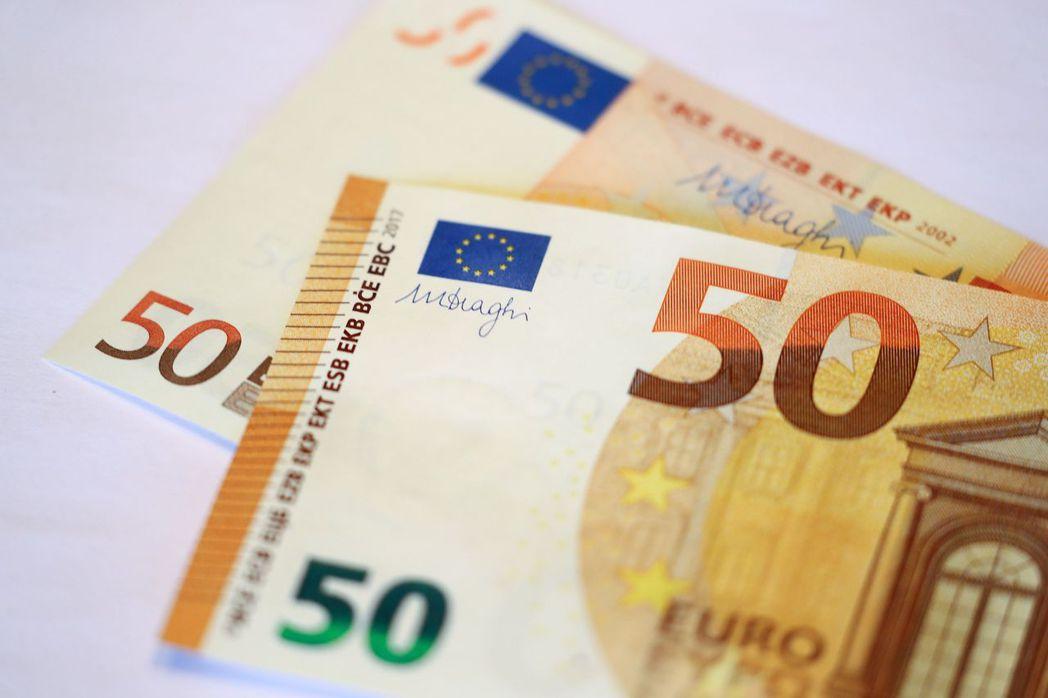 歐元兌美元升0.6%,創本月最大漲幅。 (路透)