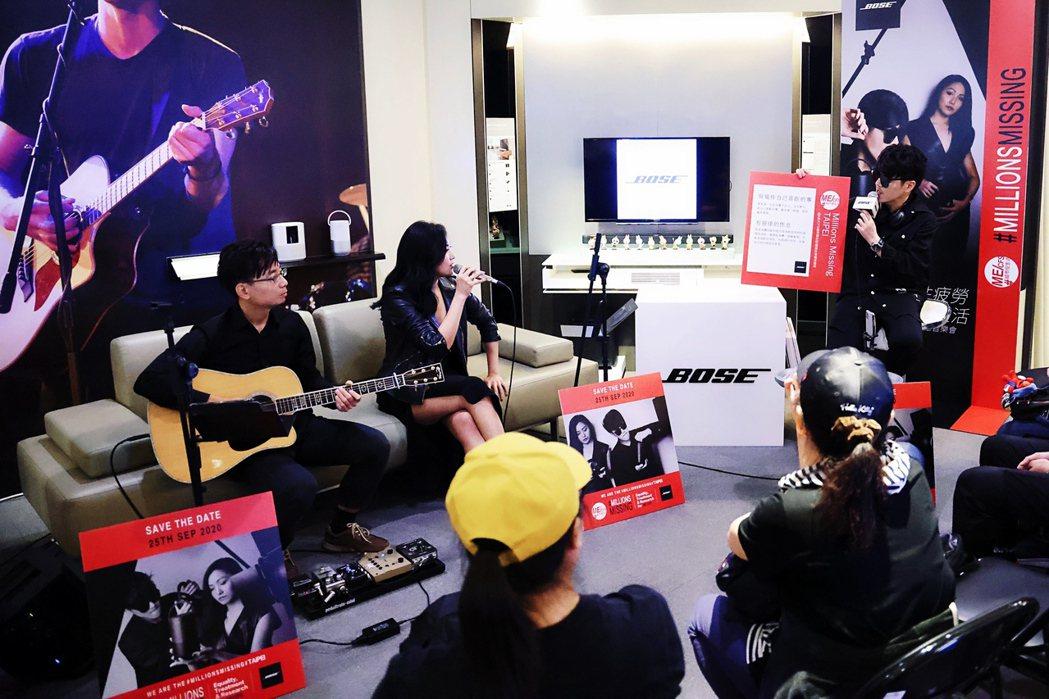 范景翔(右起)、鄭雙雙及林修身3人聯手舉辦音樂會。圖/范禾文化傳媒提供