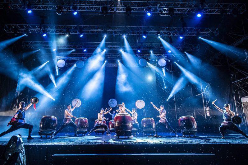 十鼓擊樂團10月10日在豐原慈濟宮演出。圖/台中市文化局提供