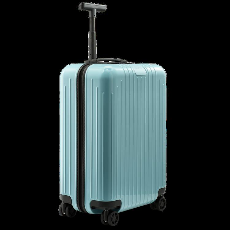 RIMOWA Essential Lite系列冰藍色行李箱18,200元。圖/R...
