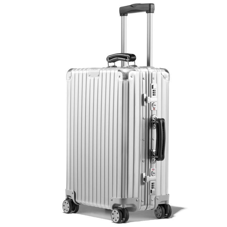 RIMOWA Classic系列Cabin Silver行李箱34,100元。圖...