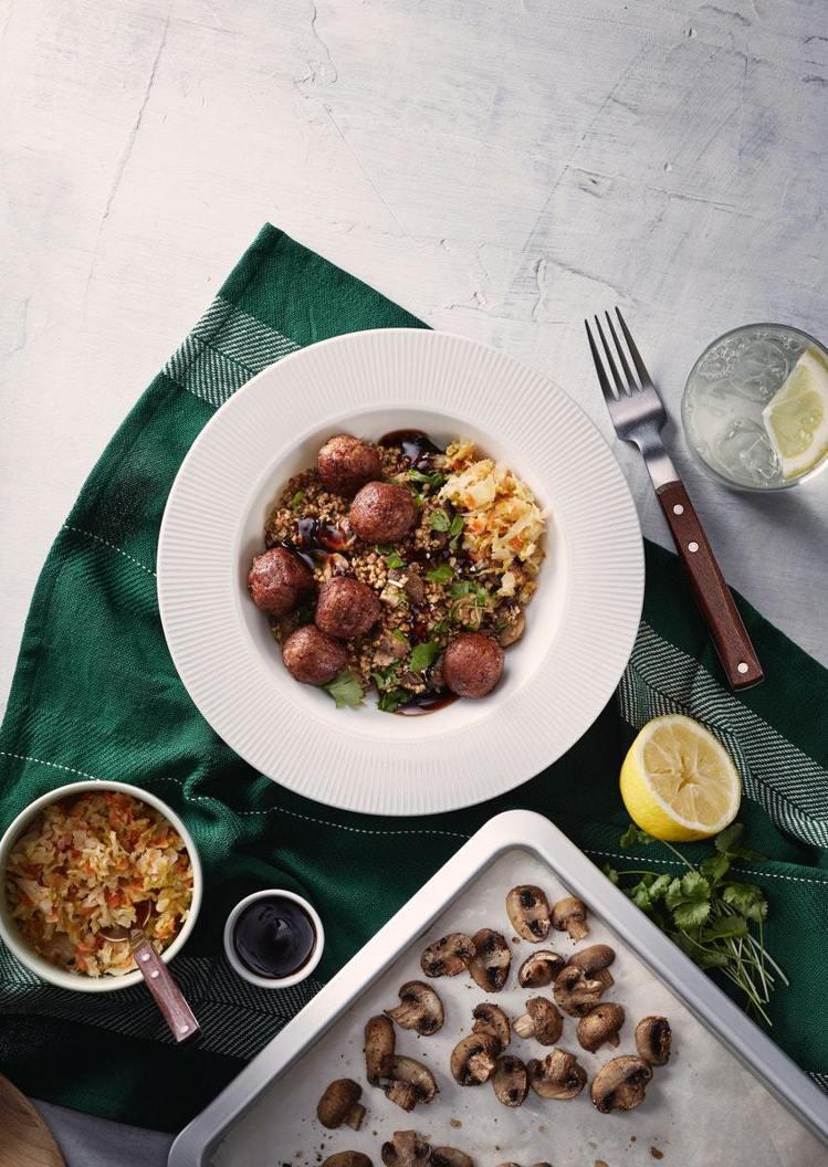 IKEA新推出植物素肉丸。圖/IKEA提供