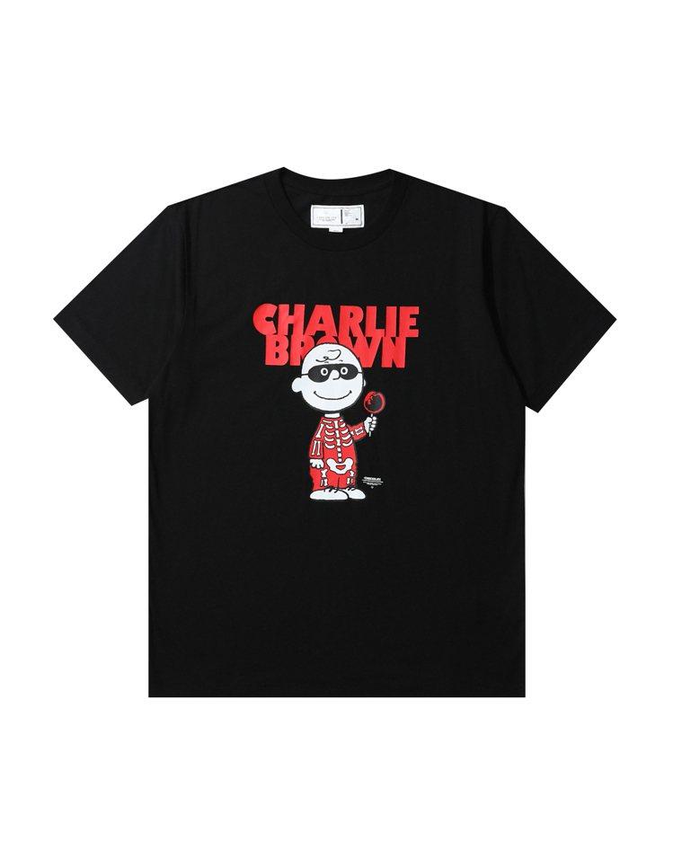 :CHOCOOLATE x SNOOPY聯名系列T恤1,099元。圖/I.T提供