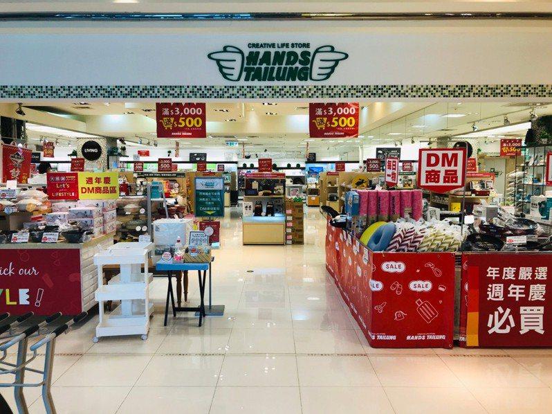 營業19年的台隆手創館微風店營業至9月30日止將結束營業。圖/台隆手創館提供
