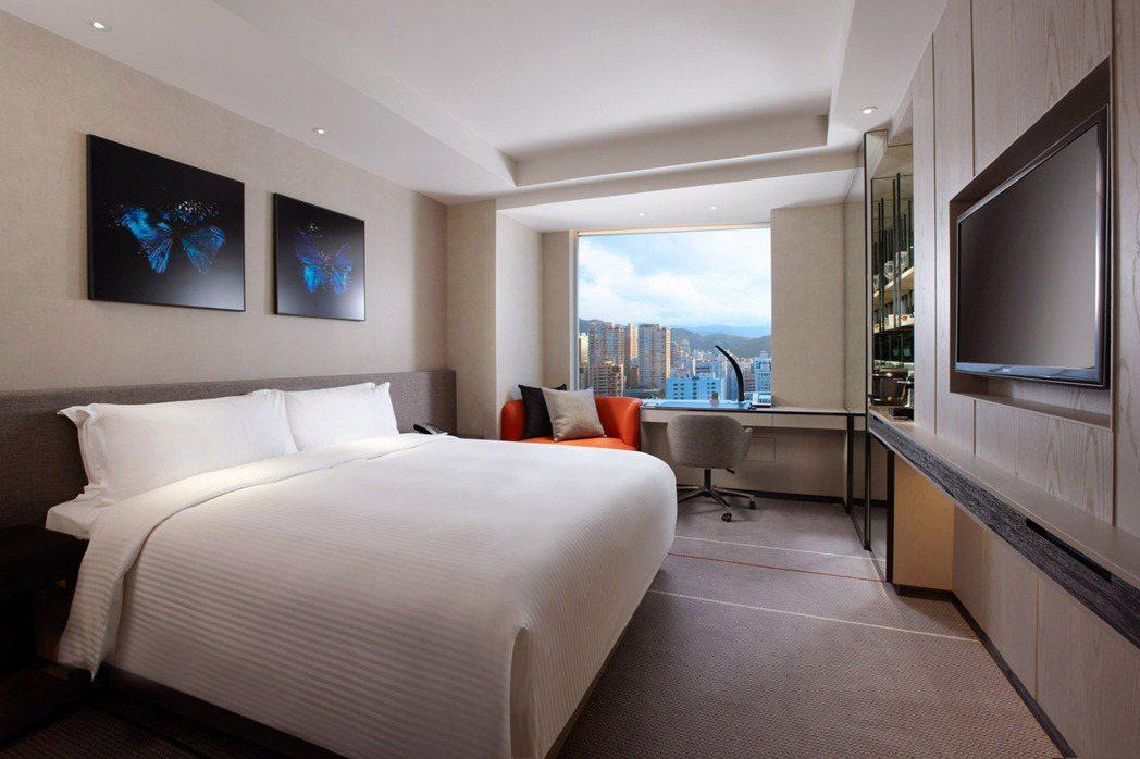 寒舍艾麗酒店將轉作防疫旅館。圖/摘自官網
