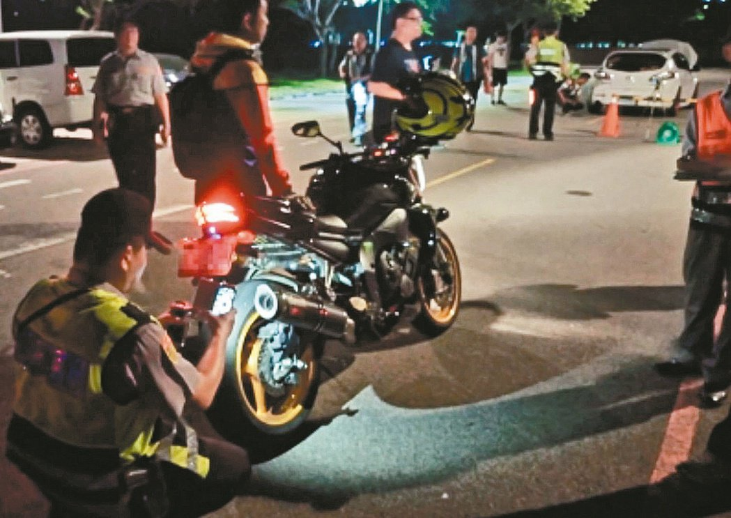 噪音改裝車嚴重影響民眾安寧,台中市警局表示將持續高強度、高密度執行「靜城專案」,...