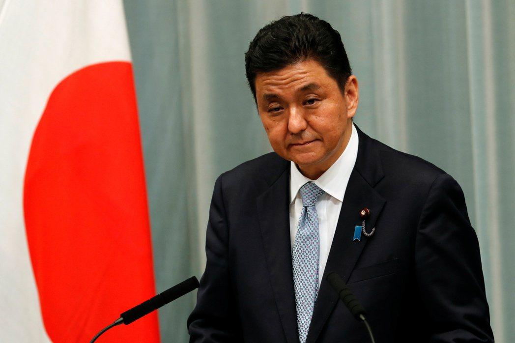 日本新防衛大臣岸信夫。(路透)