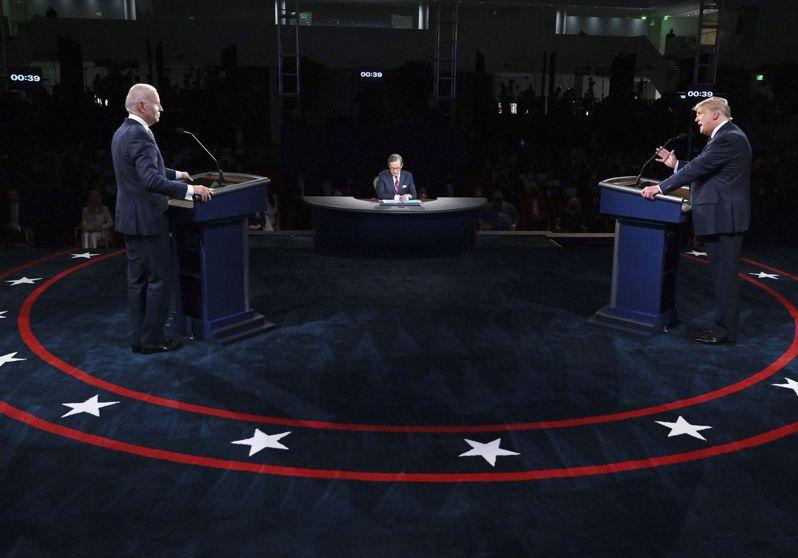 爭吵不休的美國總統大選首場辯論結束後,分析師大多認為,民主黨候選人拜登目前領先川普的態勢不變。美聯社
