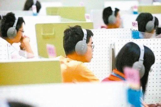 110學年度高中英語聽力測驗第一次考試訂於今年10月24日舉行,試場分配表今天公布,考生可先上網查詢,考前不開放考生查看試場。圖/聯合報系資料照片